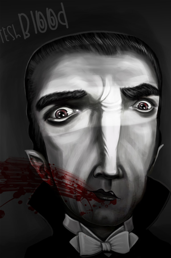 "Ariadna's illustration ""Dracula"""
