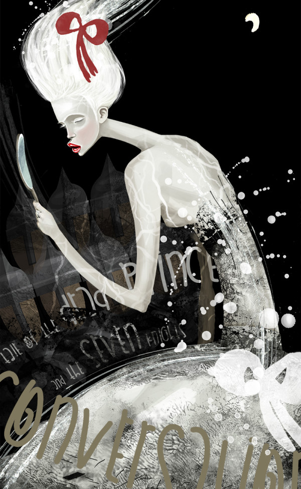 "Ariadna's illustration ""Mirror"""