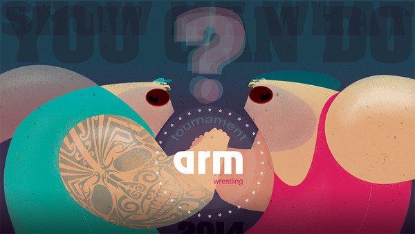 "Ariadna's illustration ""Arm"""