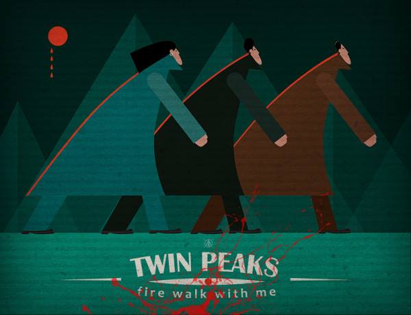 "Ariadna's illustration ""Twin Peaks"""