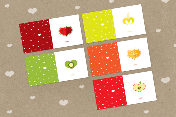 Valentine's Day cards by Ariadna