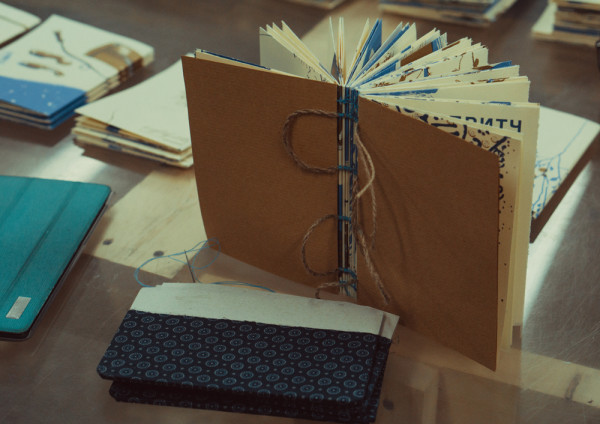 Handmade Book with Ariadna's illustration